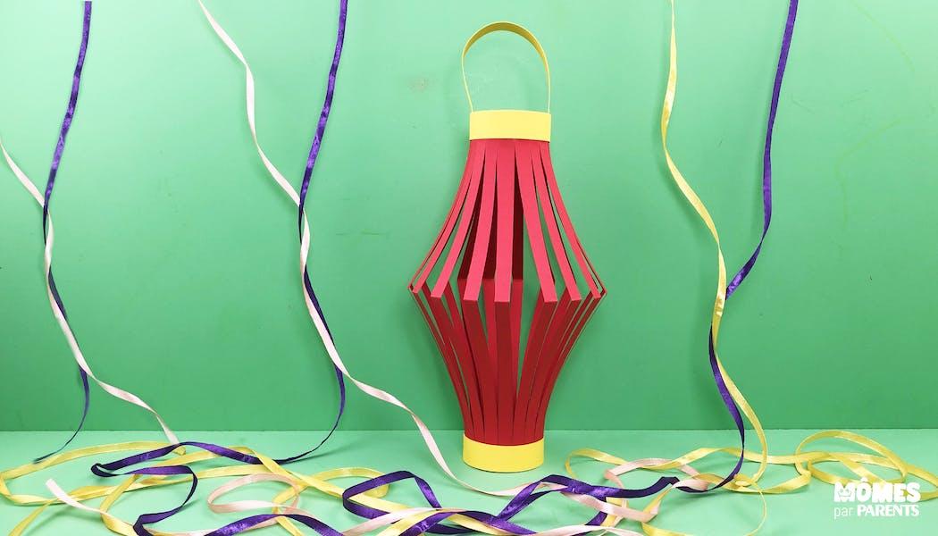 Lanterne chinoise en papier