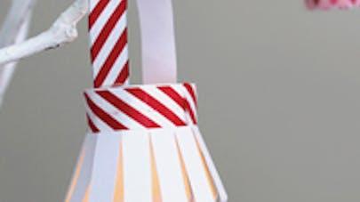 Lanterne de papier à fabriquer