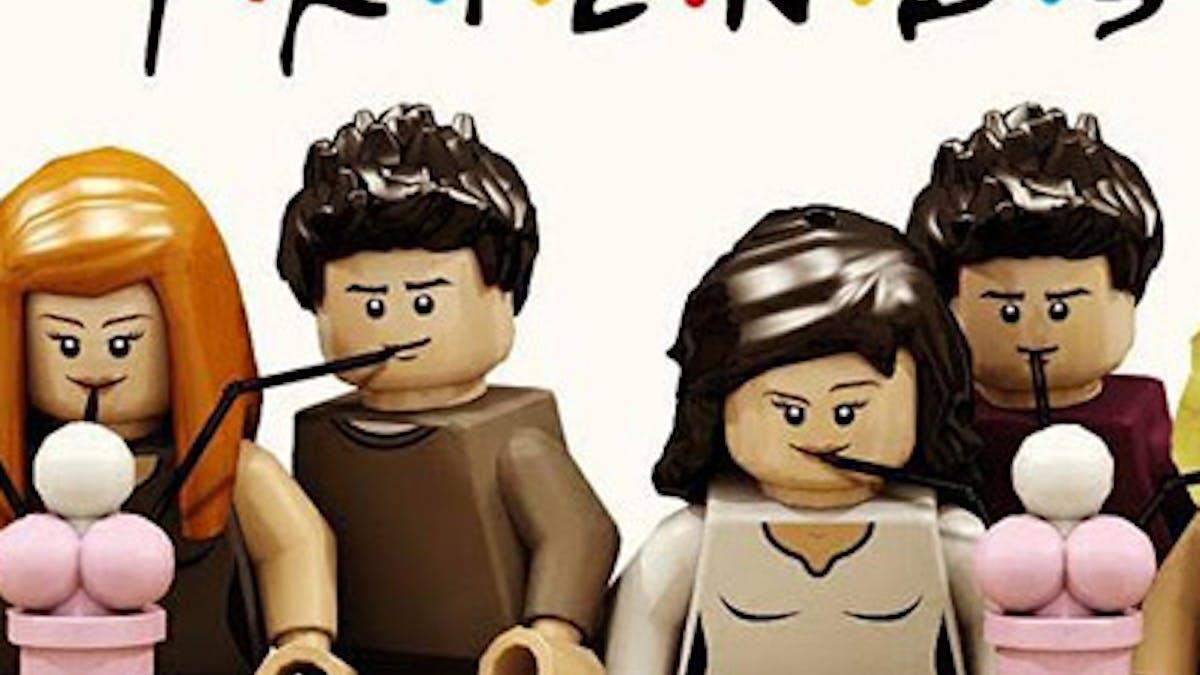 café de friends Lego Central Perk