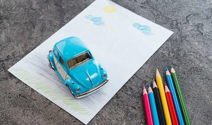 Le circuit de papier, le jeu où on rivalise à coup de crayon