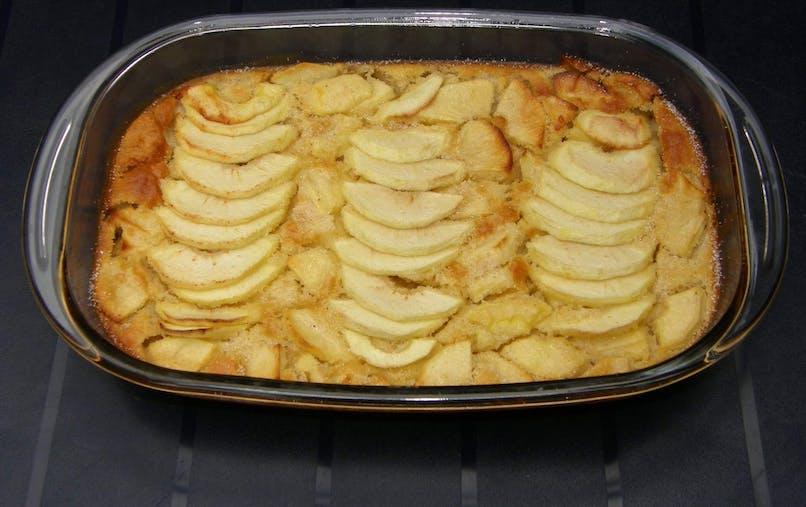 Le clafoutis aux pommes