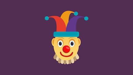 Le clown balourd