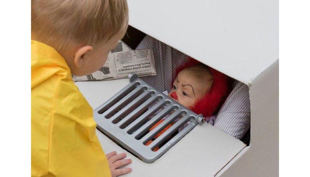 Le clown de Ça déguisements costume Halloween         enfants