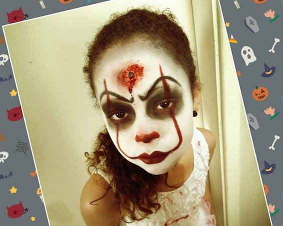 Le clown sanglant
