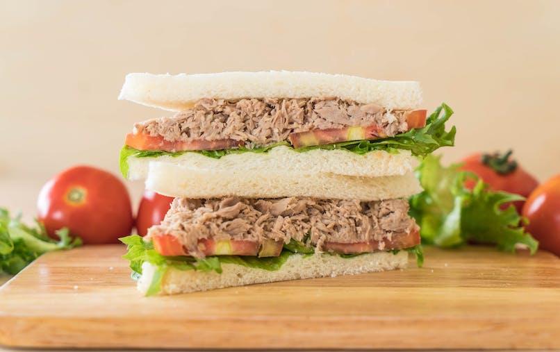 Le club sandwich au thon