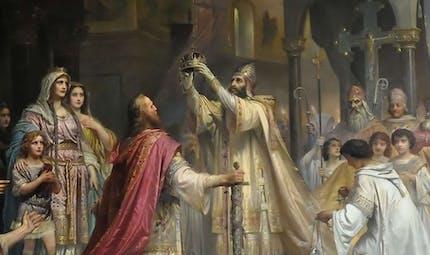Le couronnement de Charlemagne