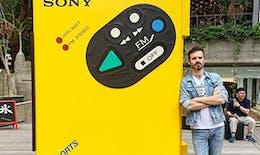 Le fameux Walkman s'expose pour ses 40 ans !