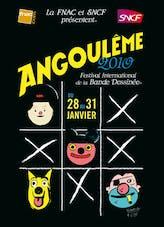 Affiche Le festival de la bande dessinée d'Angoulême       2010