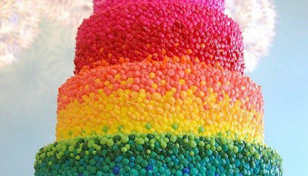 Le gâteau aux milles smarties