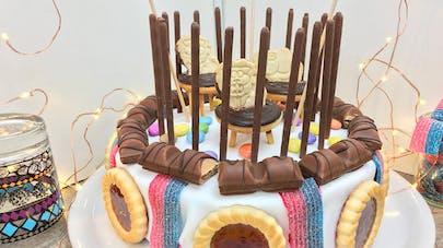 Le gâteau d'anniversaire cirque