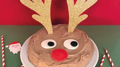 gâteau noël renne rudolph recette