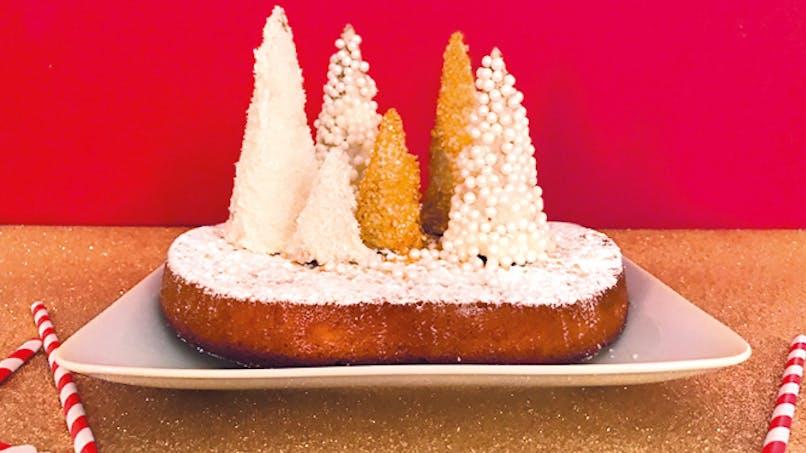 gâteau recette noël cornets glace