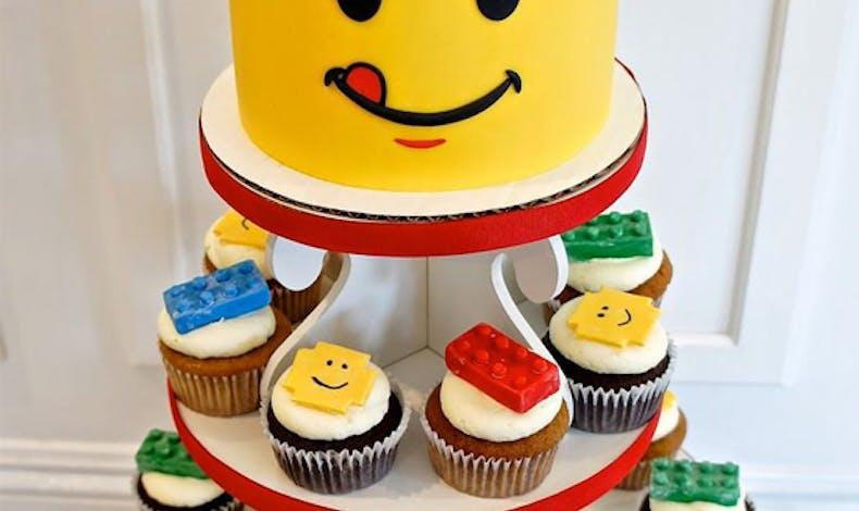 Le gâteau Lego miam !