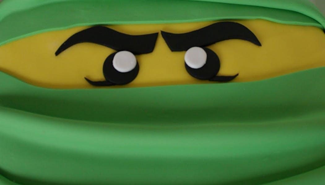 Le gâteau Lego Ninja