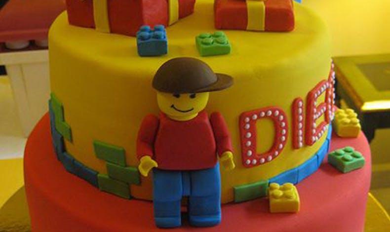 Le gâteau Lego surprise