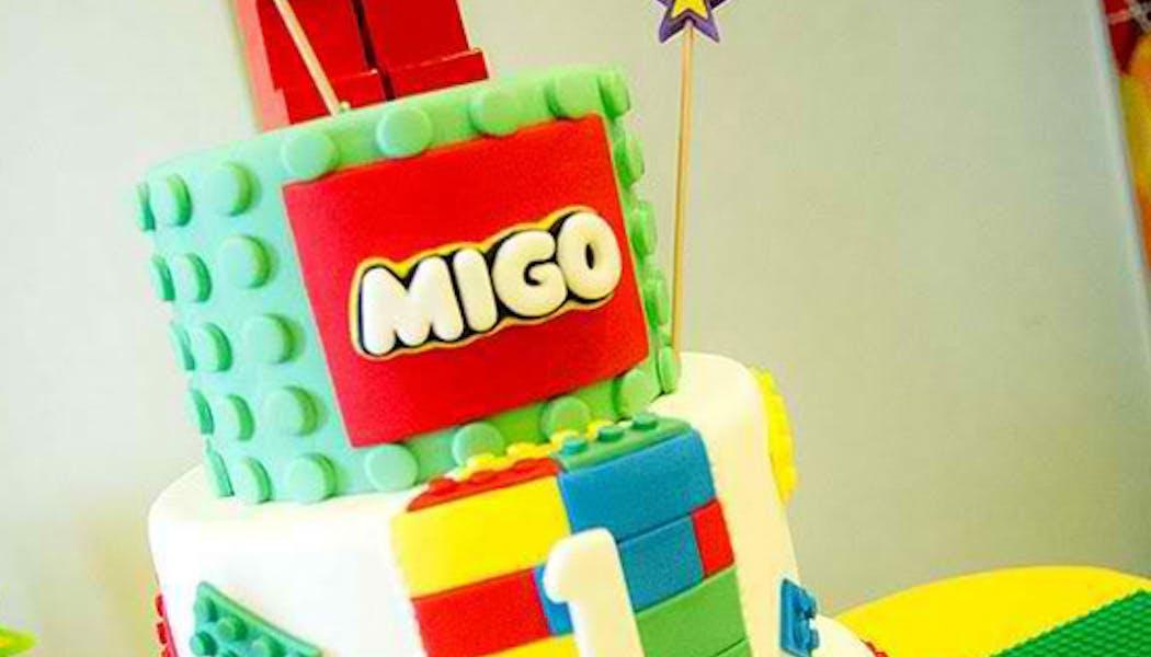 Le gâteau Logo star