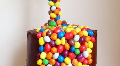 Le Gravity Cake aux M&Ms