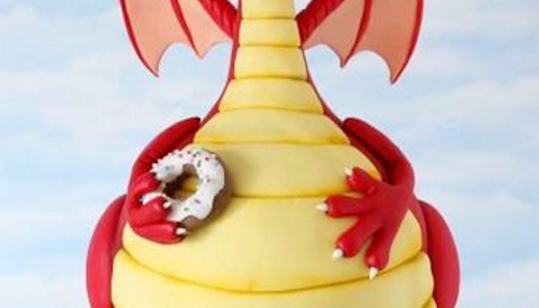 Le Gravity Cake Dragon