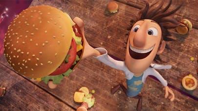 Hamburger de Tempête de boulettes géantes