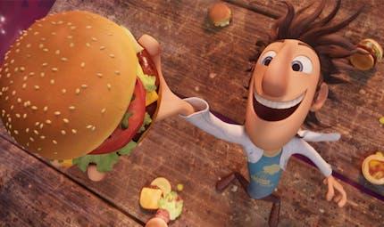 Le Hamburger de Tempête de boulettes géantes