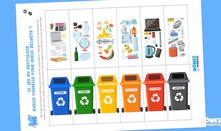 Le jeu du recyclage