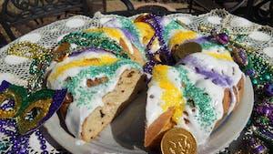 Le King Cake : la galette des rois version américaine