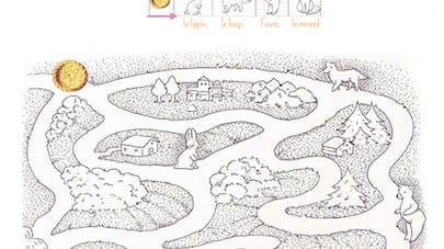 labyrinthe roule galette