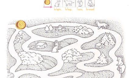 Le labyrinthe de la galette