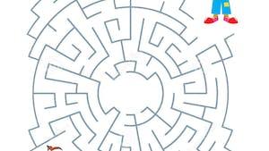 Le labyrinthe du clown