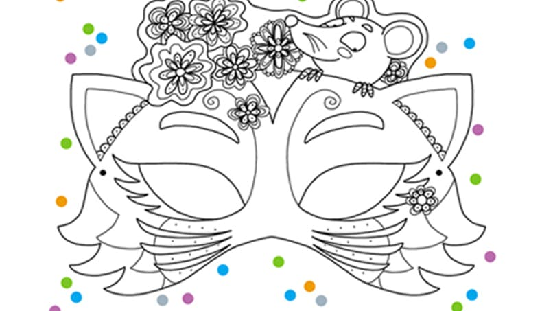 Le masque du chat et de la souris