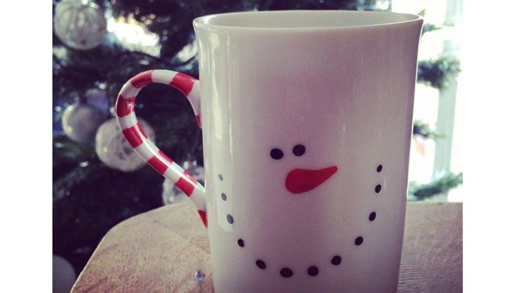 idées cadeaux Noël DIY faire soi-même bricolages Le         Mug de Noël