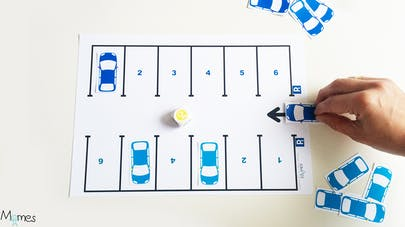 jeu de voiture à imprimer