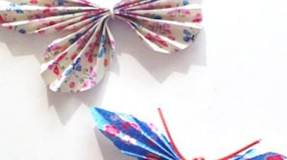 Le papillon en papier