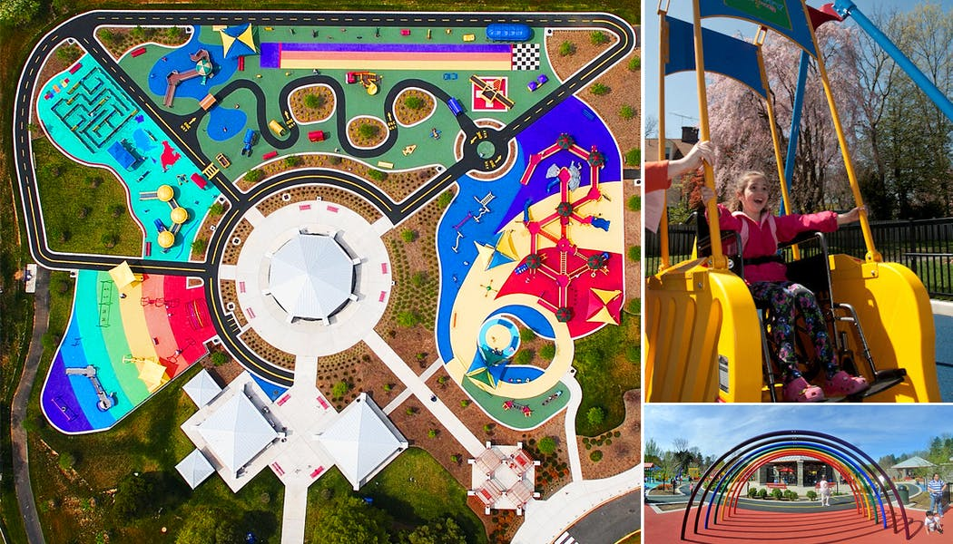 Le parc accessible de Clemyjontri