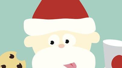 Cadeau de livraison du Père Noël par cheminée - Telecharger Vectoriel  Gratuit, Clipart Graphique, Vecteur Dessins et Pictogramme Gratuit
