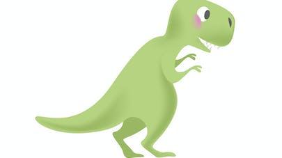 Image dinosaure vert
