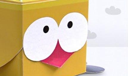 Le petit piou en papier