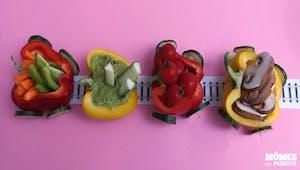 Le petit train des légumes