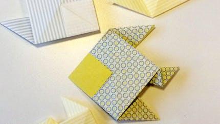 Le poisson en origami