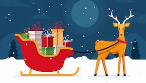 Le renne de Noël
