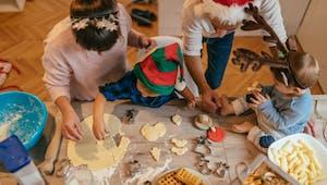Le repas de Noël des enfants
