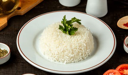 Le riz à la crème et au gruyère façon Santa