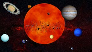 Le système solaire décrit par les enfants