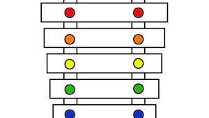 Le xylophone des couleurs