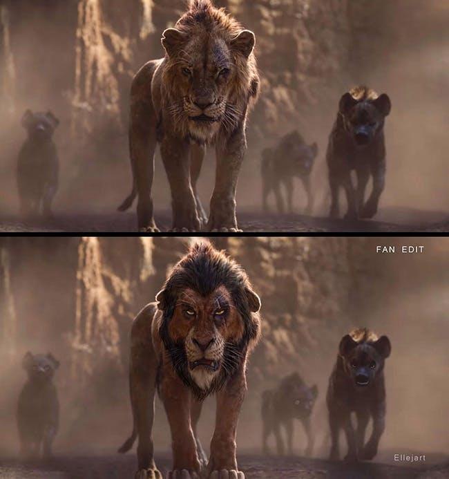 Le Roi Lion : quand un fan revisite le film dans le style de l'original !  MOMES.net