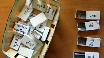 Lecture en jeu : Les boîtes d'allumettes