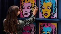 Lego Art propose de créer des tableaux sonores Marvel, Star Wars, The Beatles...