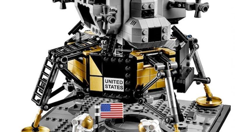set lego appolo 11 nasa 50 ans atterissage sur la       lune
