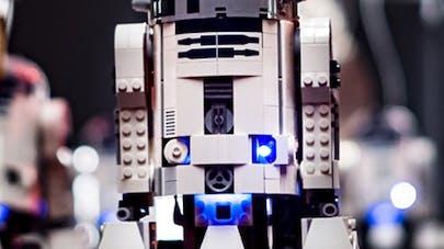 orchestre joue star wars 95 droïdes Lego Sam       Battle