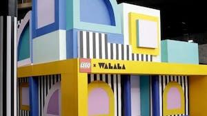 Lego : une artiste construit une maison avec 2 millions de briques !